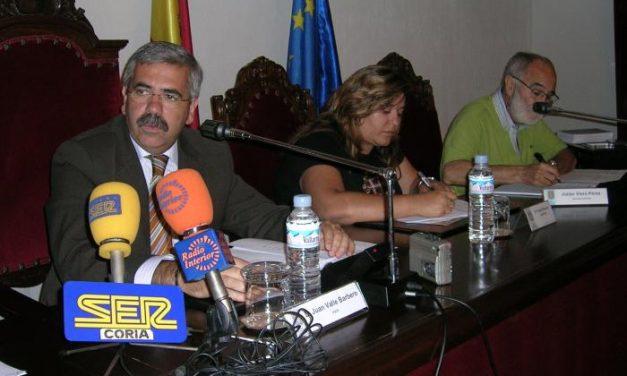 Coria celebra el primer pleno de la legislatura con el reparto de concejalías