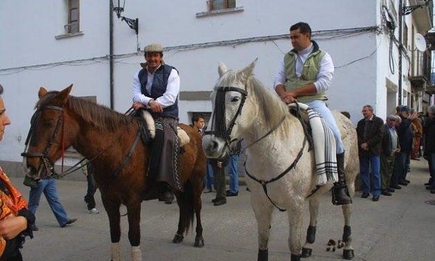 Valverde del Fresno se prepara para vivir la fiesta grande del patrón, San Blas, con jinetes y caballos