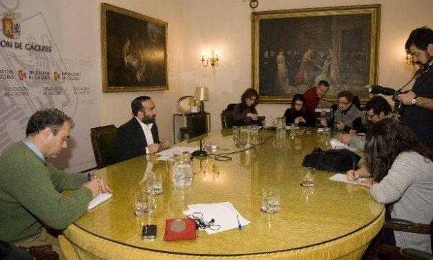 La Diputación de Cáceres destina más de 746.000 euros a ayuntamientos y entidades deportivas