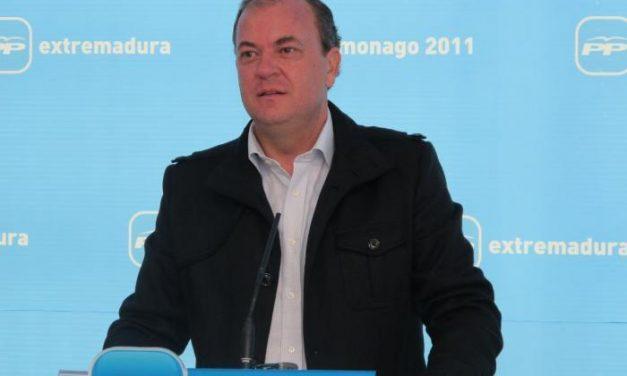 Monago afirma que el Partido Popular de Moraleja dará a conocer a su candidato este mismo mes de febrero