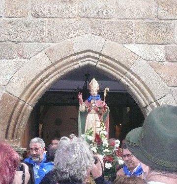 Las celebraciones de San Blas en Moraleja concluyen hoy con baile popular y desfile infantil de disfraces