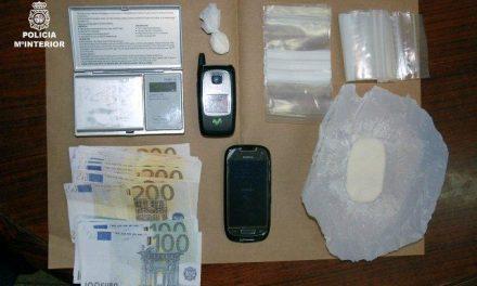 La Policía Nacional detiene en Mérida a una joven pareja por tráfico de sustancias estupefacientes
