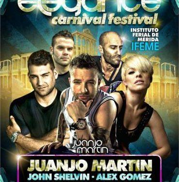 El DJ Carlos Chaparro participa este sábado en Mérida en el festival Elegance Carnival con Soraya