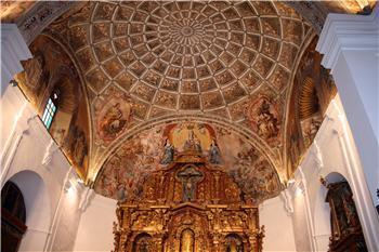 El convento de Santa Clara de Llerena da a conocer la rehabilitación de sus pinturas murales y su musealización