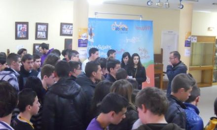 Los jóvenes de Torrejoncillo participan en la actividad Desubíkate para fomentar la creatividad