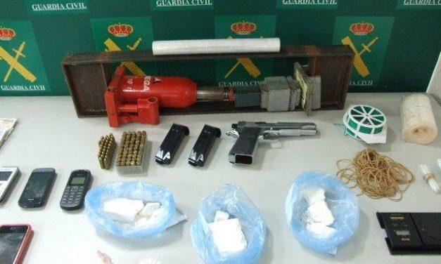 La Guardia Civil detiene a siete personas por tráfico de drogas en la comarca de Tierra de Barros