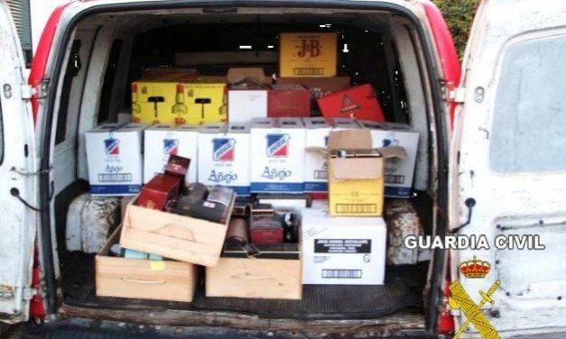 Detienen a un joven de 22 años por robar más de medio millar de bebidas alcohólicas de un almacén de Olivenza