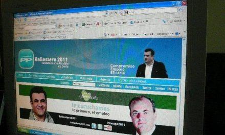 El PP de Coria presenta su web www.ballestero2011.com para recoger propuestas de los ciudadanos