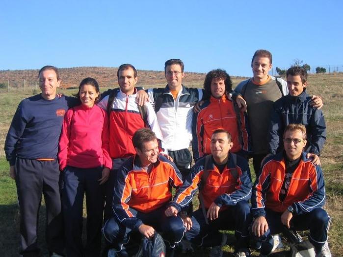 Una veintena de atletas caurienses participan en la II edición de la Media Maratón de Riveros del Tajo