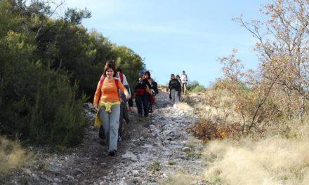 Un total de 51 personas de Coria participan en la ruta de Alfonso Onceno del patronato  de deportes