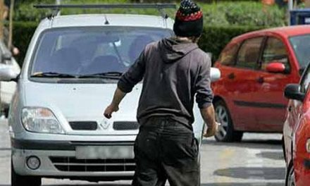 """Detienen a un """"gorrilla"""" en el aparcamiento de la estación de autobuses de Plasencia tras agredir a un policía"""