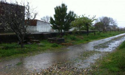 La provincia de Cáceres registra fuertes tormentas con aparato eléctrico y granizo de grandes dimensiones