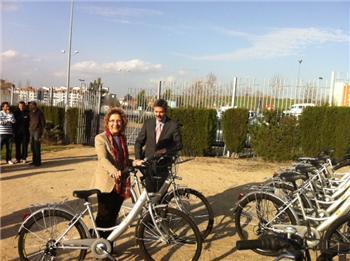 Cáceres dispone de 12 bases y 160 bicicletas por la ciudad dentro del servicio público de alquiler de bicis