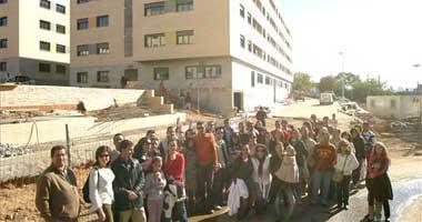 Los compradores de pisos de la zona del Fuerte de San Cristóbal de Badajoz se sienten engañados