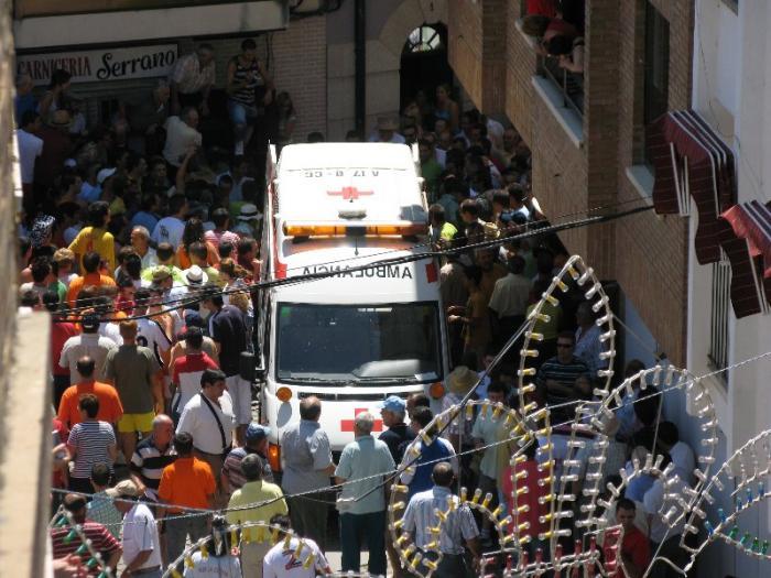 El herido en el encierro de San Buenaventura del sábado recibe el alta del hospital