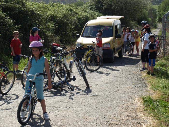 La segunda ruta del III Mes de la Bicicleta de Moraleja congrega a 30 niños y 11 adultos en la actividad