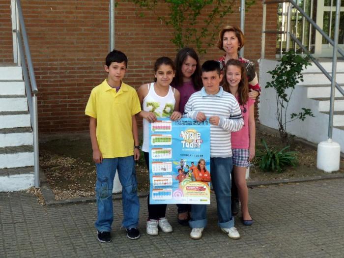 Alumnos del CP Virgen de la Vega de Moraleja consigue un premio de la ONCE en categoría provincial