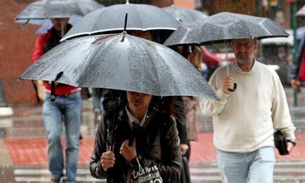 El 112 activa la alerta amarilla por fuertes lluvias en Extremadura durante todo este miércoles