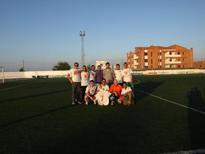La I Liga de Invierno de Fútbol-7 Villa de Moraleja concluye con el triunfo del equipo Irlanda