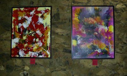 El pintor Julio Blázquez expone 36 nuevos cuadros «Con nuevas miradas» en Villanueva de la Sierra