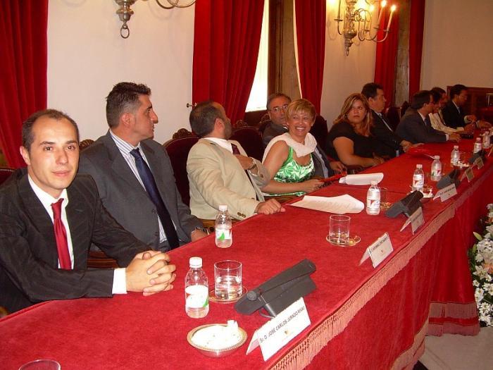 Tovar toma posesión como presidente de la Diputación