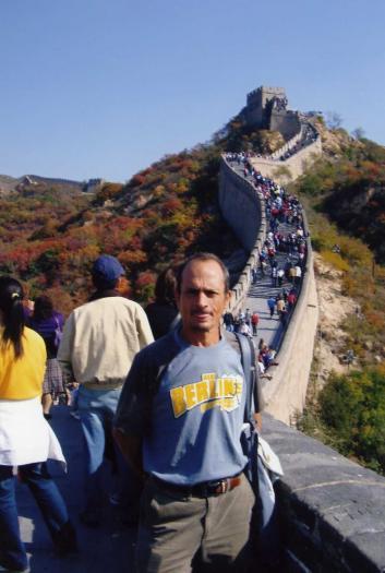 El atleta cauriense José Luis Borrero Gómez ha participado recientemente en el maratón de Pekín