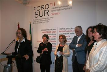 Foro Sur 2011 comienza en su undécima edición en Cáceres con mayor presencia de galerías extremeñas