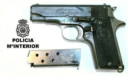 La Policía Nacional detiene a un hombre presunto autor de unas lesiones con arma de fuego en Badajoz