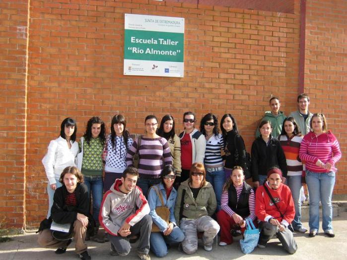 Casar de Cáceres pone en marcha la IV Escuela Taller Río Almonte en la que participan 20 jóvenes