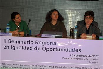 Mérida acoge las jornadas finales de los Equal Eloisa y Confío de igualdad de oportunidades