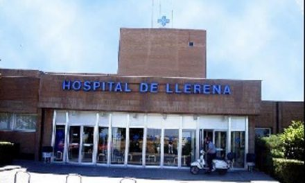 Muere por coronavirus un varón de 86 años ingresado en el Hospital de Llerena