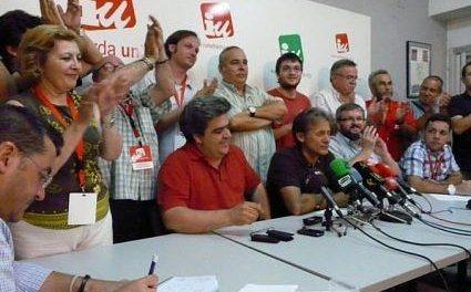 IU Extremadura no descarta un referéndum entre la militancia para decidir si apoya a PP o a PSOE