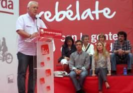 Cayo Lara reconoce que IU faltaría a su palabra si permite un gobierno del PP en Extremadura