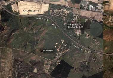 Las máquinas del ayuntamiento de Badajoz volverán a Los Rostros a demoler obras ilegales