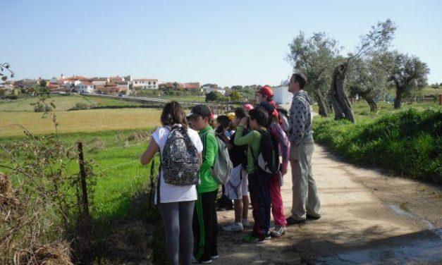 Unos 600 alumnos pasan por los Canchos de Ramiro dentro de los itinerarios ecoeducativos de Adesval