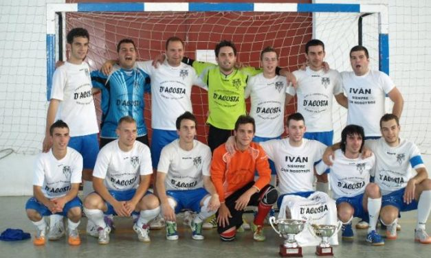 Los equipos de Miajadas y de Jaraíz de la Vera resultan vencedores en las ligas Trofeo Diputación de Cáceres