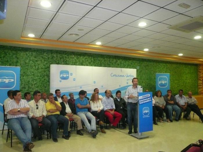 El PP gobernará para el 70% de los vecinos cacereños y tendrá 90 alcaldes con mayoría absoluta