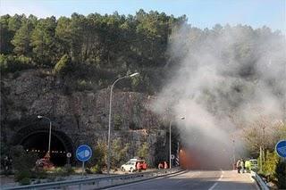 Un simulacro de emergencia obligará a cortar al tráfico rodado el túnel de Miravete el próximo miércoles
