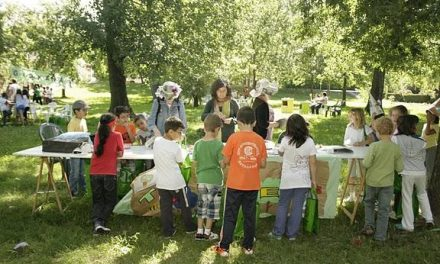 Más de un centenar de niños participan en los actos conmemorativos del Día del Medio Ambiente de Hervás
