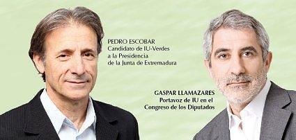 Pedro Escobar comunica a LLamazares que no expedientará a los ediles de IU que hayan apoyado al PP