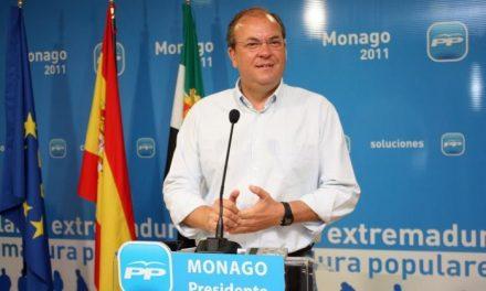 José Antonio Monago está dispuesto a que Izquierda Unida presida la Asamblea de Extremadura