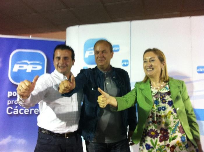 Los alcaldes de Coria y Moraleja felicitan a Monago y se muestran satisfechos con la postura de IU