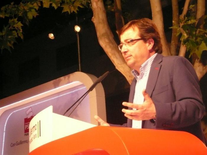 Fernández Vara pide respeto desde Twitter a la decisión tomada por IU de facilitar el gobierno del PP