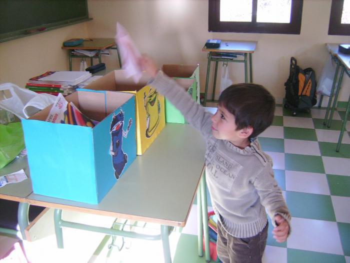 Los escolares hurdanos aprenden a reciclar en una campaña de concienciación de la mancomunidad