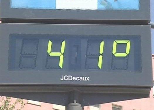 El 112 activa la alerta naranja por altas temperaturas en el Guadiana y la amarilla en el resto de la región