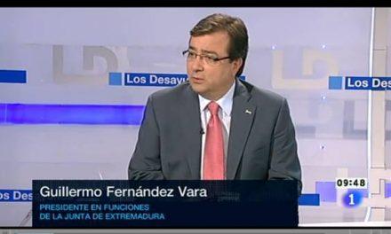 Vara reconoce que el PSOE tuvo más reuniones con IU y que le ofrecieron una moción de censura contra Monago