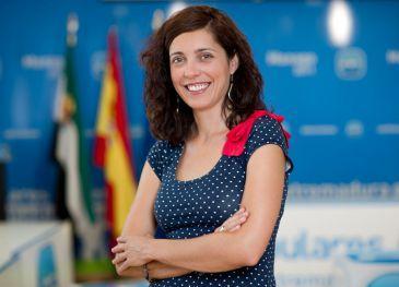 Virginia Alberdi, exconcejala de Cultura de Cachorrilla, es la nueva portavoz del PP de Extremadura