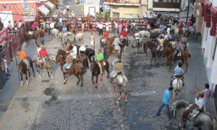 Casi un centenar de caballistas traslada hoy los bueyes a Moraleja en el inicio de las fiestas patronales