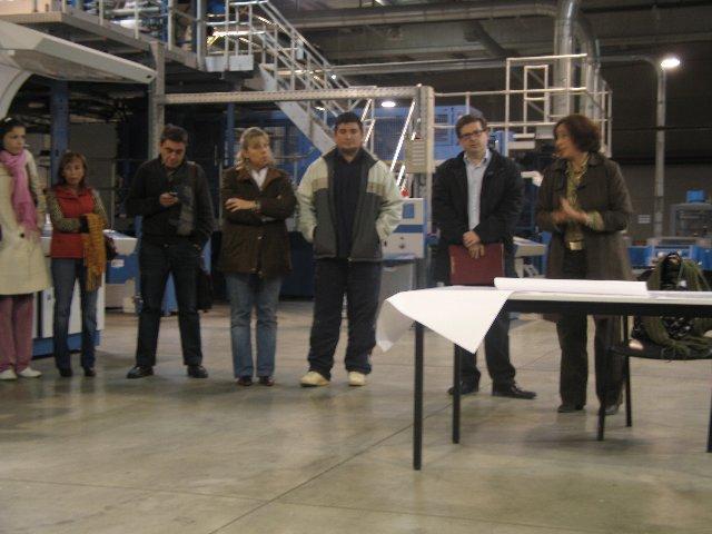El sindicato CCOO rechaza el cierre de la planta Rotoex y exige el mantenimiento de los puestos de trabajo