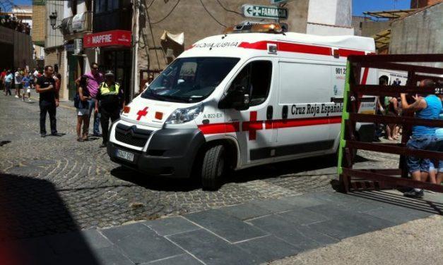 El mozo herido ayer en el encierro de Moraleja continúa ingresado en Coria con una luxación de cadera
